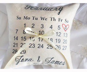 etsy, ring bearer pillow, and bridal shower gift image