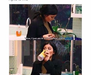 food, funny, and kylie jenner image