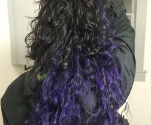 black, hairstyles, and curly image