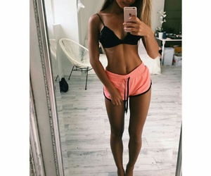 fitness, body, and goals image