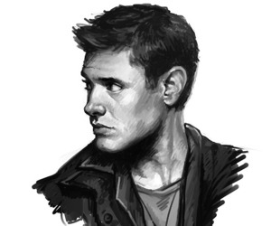 supernatural, dean, and fanart image