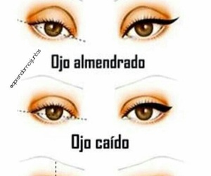 eyes, diy, and maquillaje image