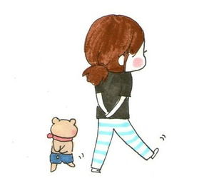 cute, funny, and teddy image