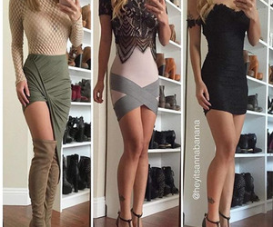 dress, fashion, and outfits image