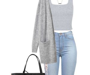 outfit, jeans, and vans image