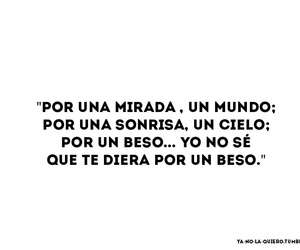Besos, frases, and mundo image
