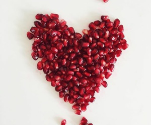 heart and pomegranate image