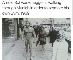 Arnold Schwarzenegger, funny, and funny pictures image