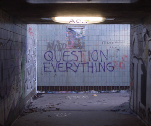 question, grunge, and quotes image