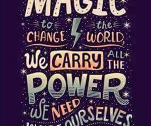 quotes, magic, and harry potter image