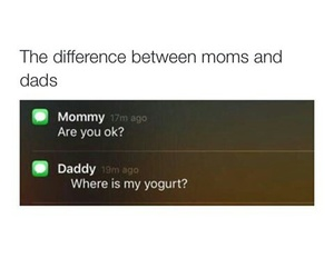 daddy, mommy, and this image