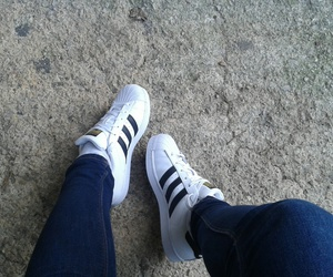 adidas, sneakers, and black&white image