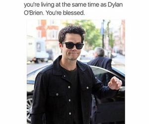 stiles, dylan o'brien, and dylanobrien image