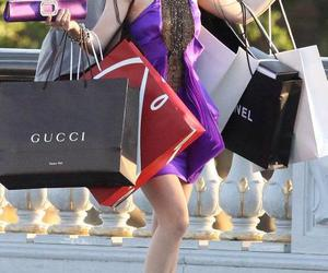 chanel, gucci, and shopping image