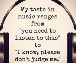 music, quotes, and taste image