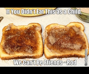<3, breakfast, and childhood image