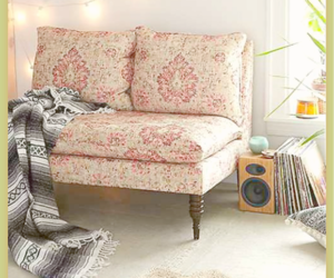couch, decor, and sofa image