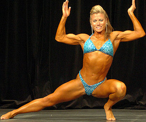 muscle women, senusous, and sexy image