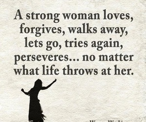 woman, life, and love image