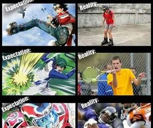 anime, football, and sport image