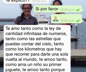 chats, frases, and I Love You image