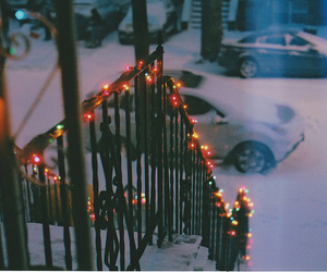 photography, stairs, and winter image