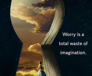 imagination, worry, and quote image