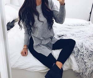 fashion, streetstyle, and winteroutfits image