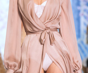 fashion, pink, and robe image
