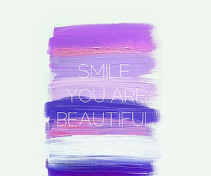 smile, beautiful, and quotes image