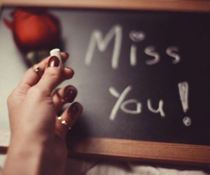 miss you, صور , and love you image