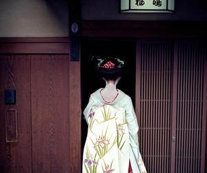 geisha, japan, and kioto image