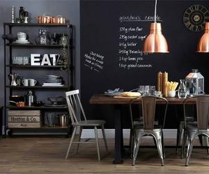inspiration, interior, and kitchen image