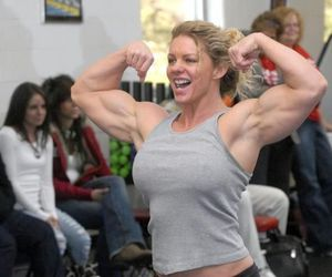 sexy, bodybuilding, and muscle women image