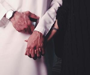 couple, lové, and muslim image