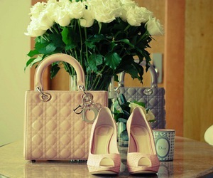 dior, bag, and shoes image