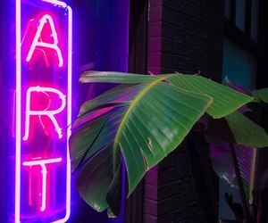 art, neon, and grunge image