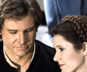 star wars, leia organa, and carrie fisher image