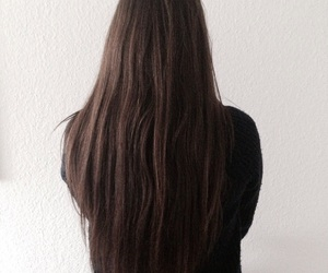 brownhair, brunette, and hair image