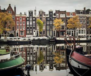 amsterdam, house, and autumn image