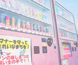 รูปภาพ japan, pink, and drink