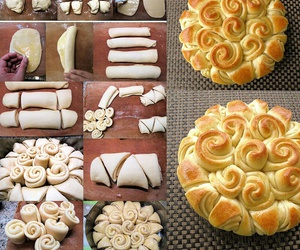 food, diy, and bread image