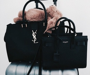 bag, fashion, and black image