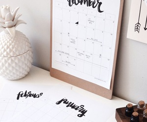calendar, diy, and ideas image