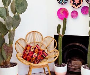 chair, home, and retro image