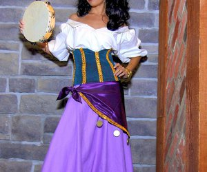 costume, disney, and esmeralda image