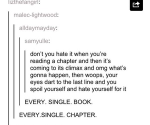 book, funny, and chapter image