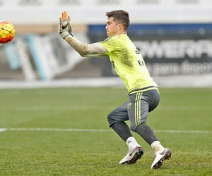 boys, real madrid, and goalkeeper image