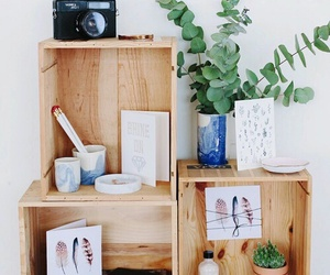 crate, room decor, and diy image