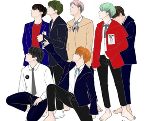 army, fangirl, and bts image